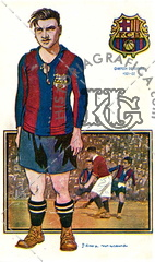 Jugadores Foot-Ball. F.C.Barcelona. Francisco Viñals. Ref: LL00022