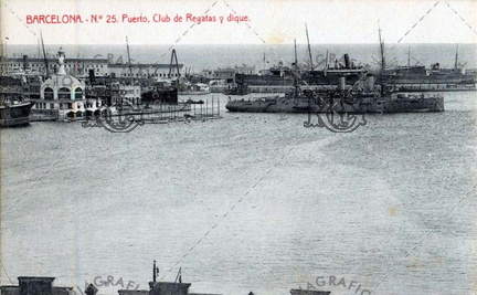 Club de Regatas y Club Maritimo. Ref: 5000694
