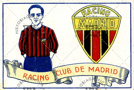 Racing Club de Madrid. Ref: LL00063