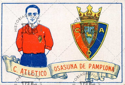 Club Athletico Osasuna de Pamplona. Ref: LL00078