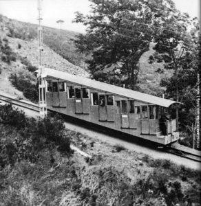 El funicular original del Tibidabo