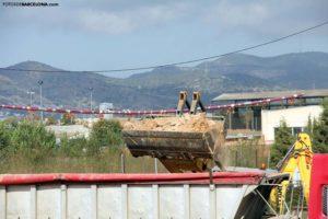 El futuro inmediato de la villa romana de la Sagrera es un vertedero común de escombros