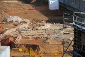Nuevos restos arqueológicos en La Sagrera