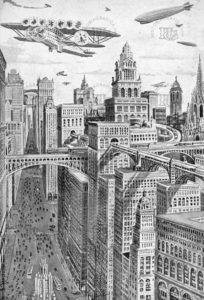 La Barcelona futura vista en los años 30