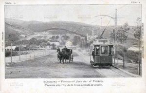 Avenida del Tibidabo en 1902