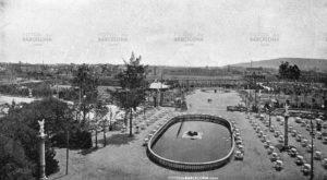 Turó Park. Vista desde el restaurante