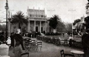 Turó Park. Restaurante y edificio principal