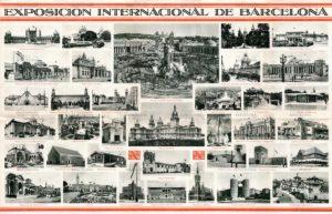 Recuerdo de la Exposición Internacional de Barcelona de 1929