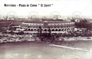 El Sport. Primera versión de la plaza de toros Monumental