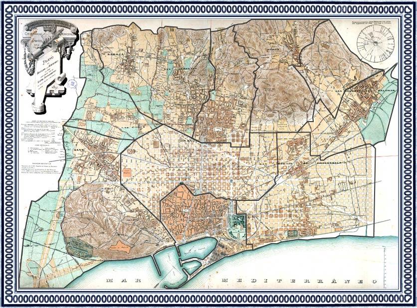 Plano de Barcelona aprobado por el Excmo. Ayuntamiento el 13 de enero de 1891 - Institut Cartogràfic de Catalunya