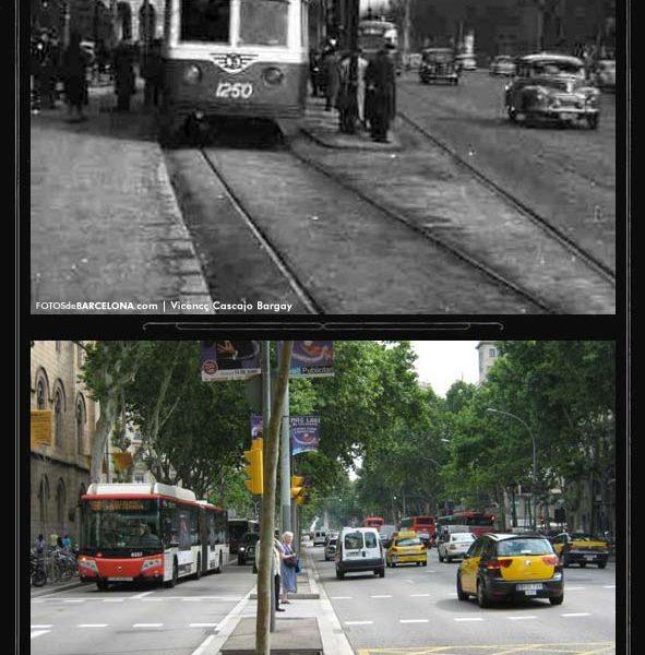 Transport urbà a la Gran Via