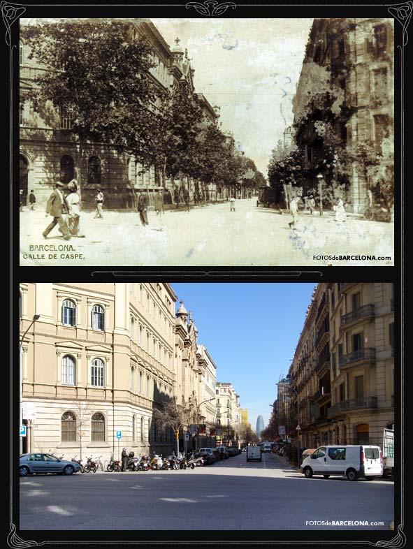 Eixample - Calle casp barcelona ...
