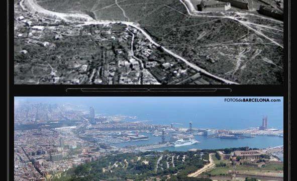 Cima de Montjuïc y castillo