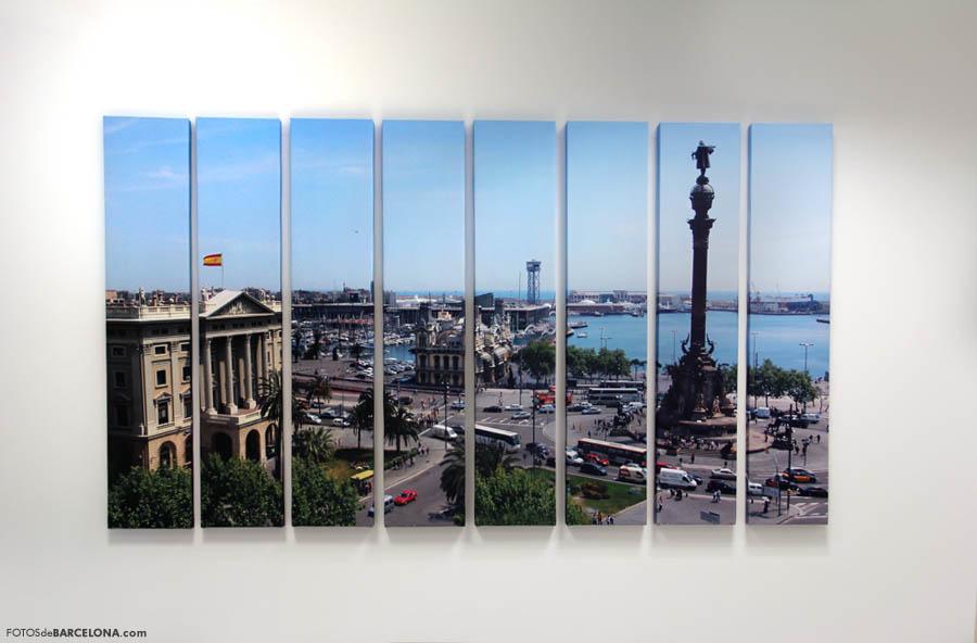Decoración con fotografías de Barcelona