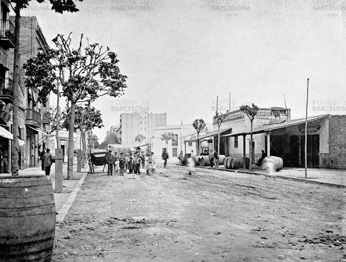 Calle Mallorca. El Ninot