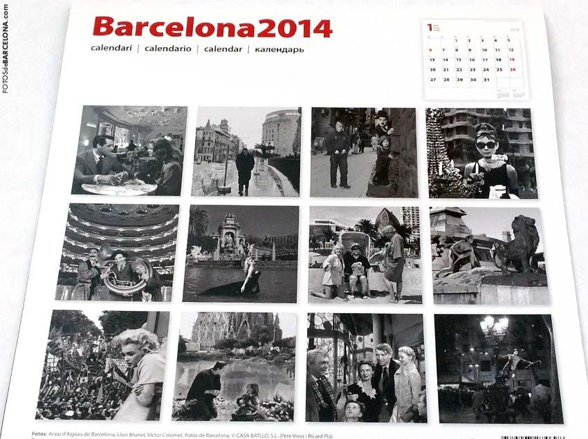 Calendario de Barcelona 2014