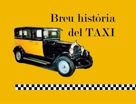 Breu història del Taxi