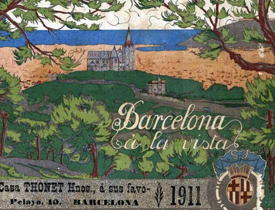 Barcelona a la Vista 1911