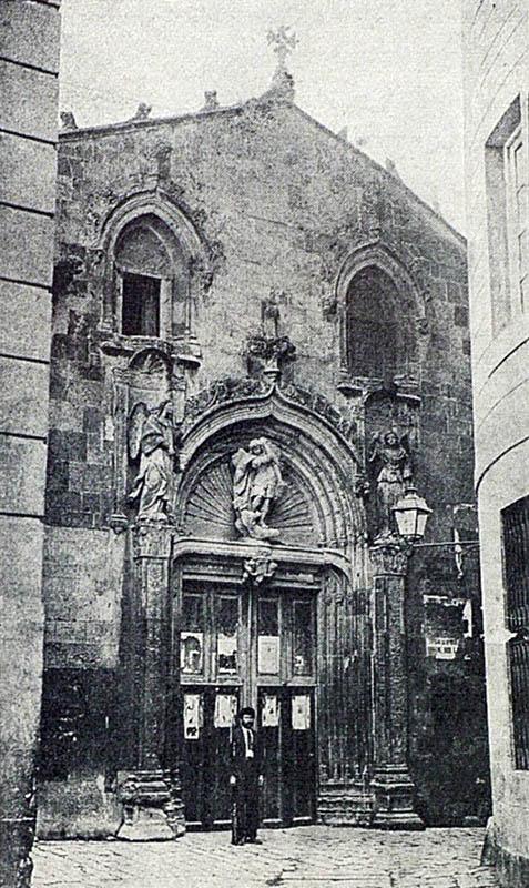Esglesia Sant Miquel. Façana original