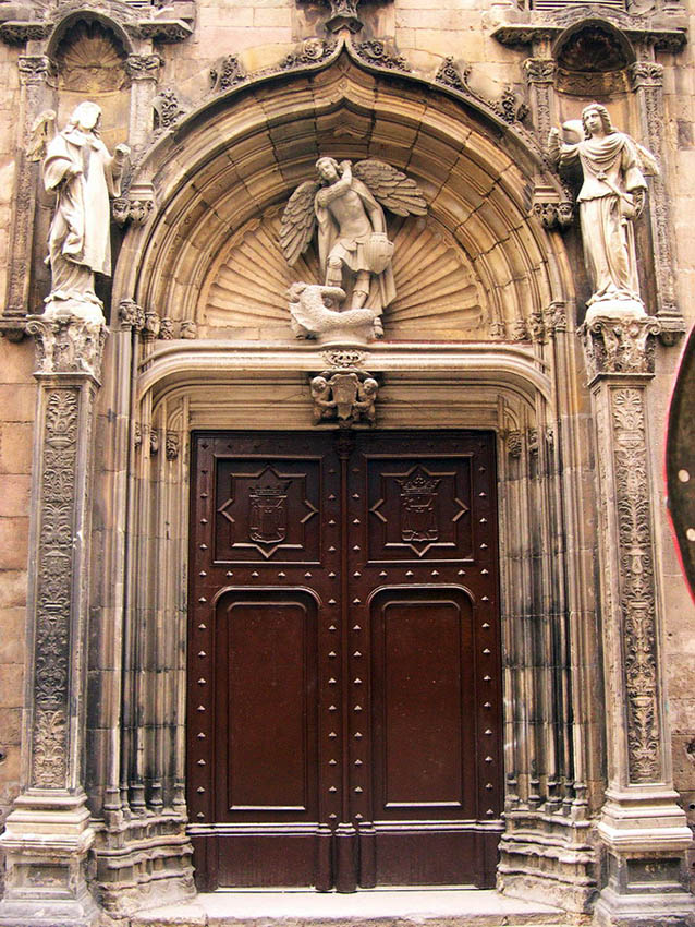 Esglesia Sant Miquel. Façana actual