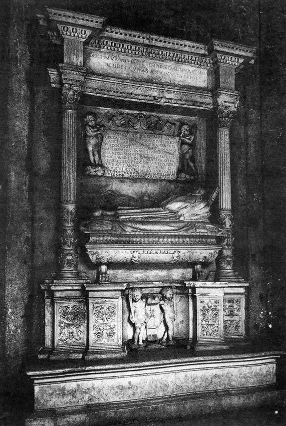 Esglesia Sant Miquel. Tomba de Jeroni Descoll