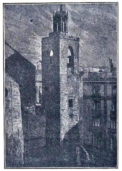 Esglesia Sant Miquel. Campanar original