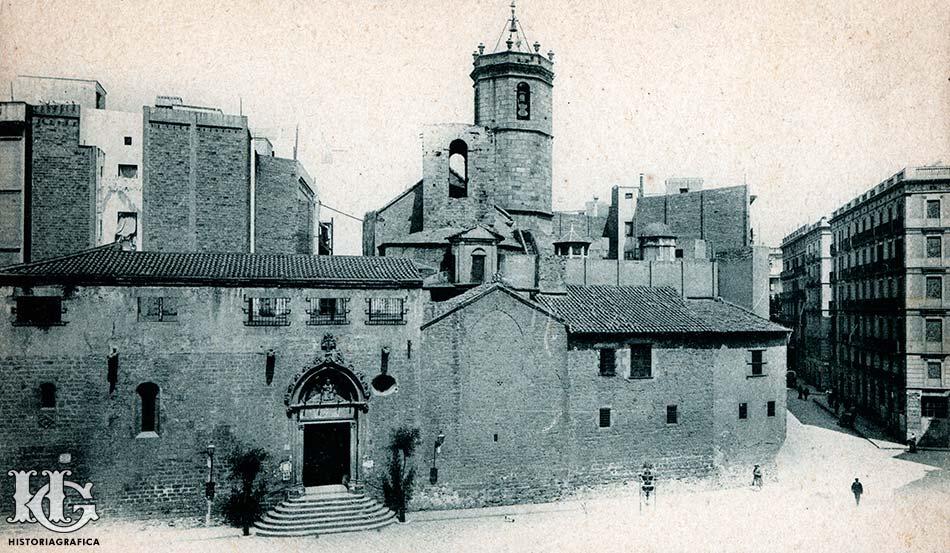 Sant Pere de del Puelles. c.1910