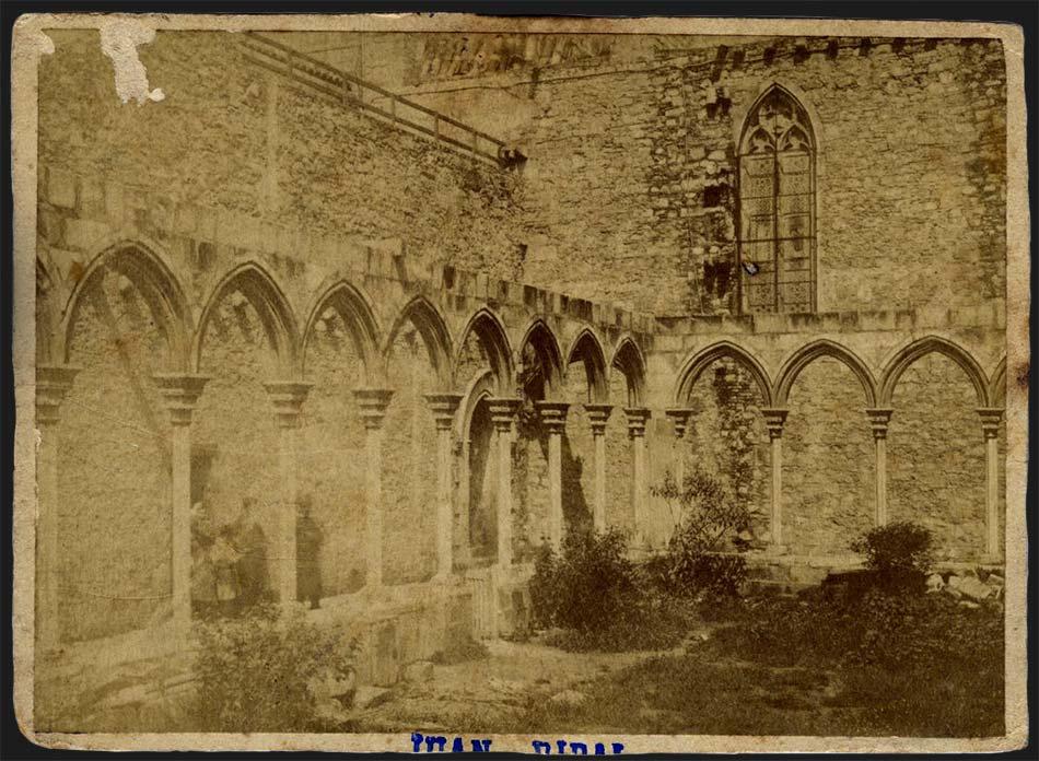 Claustre de l'església de Santa Anna de Barcelona
