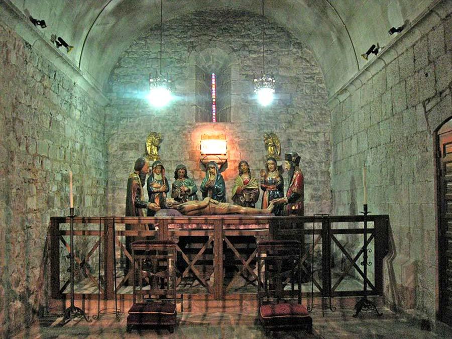Capella dels Perdons (segle XIV) de l'Església de Santa Anna de Barcelona
