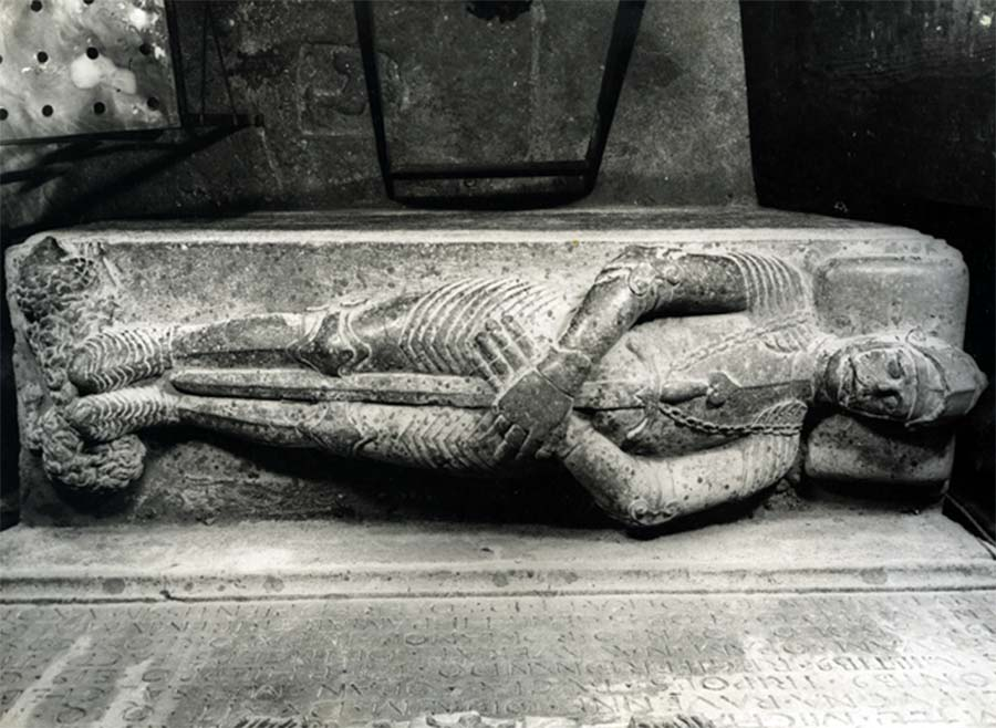 Sepulcre de Miquel de Boera. Església de Santa Anna de Barcelona.