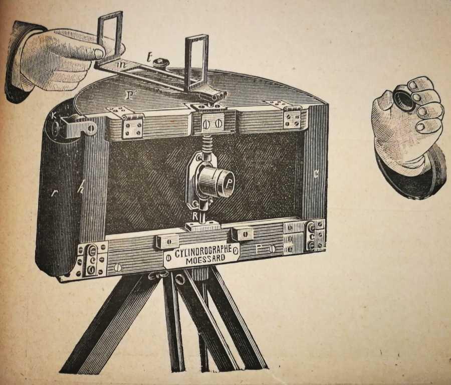 Cilindrografo de Moëssard. Fotosdebarcelona.com