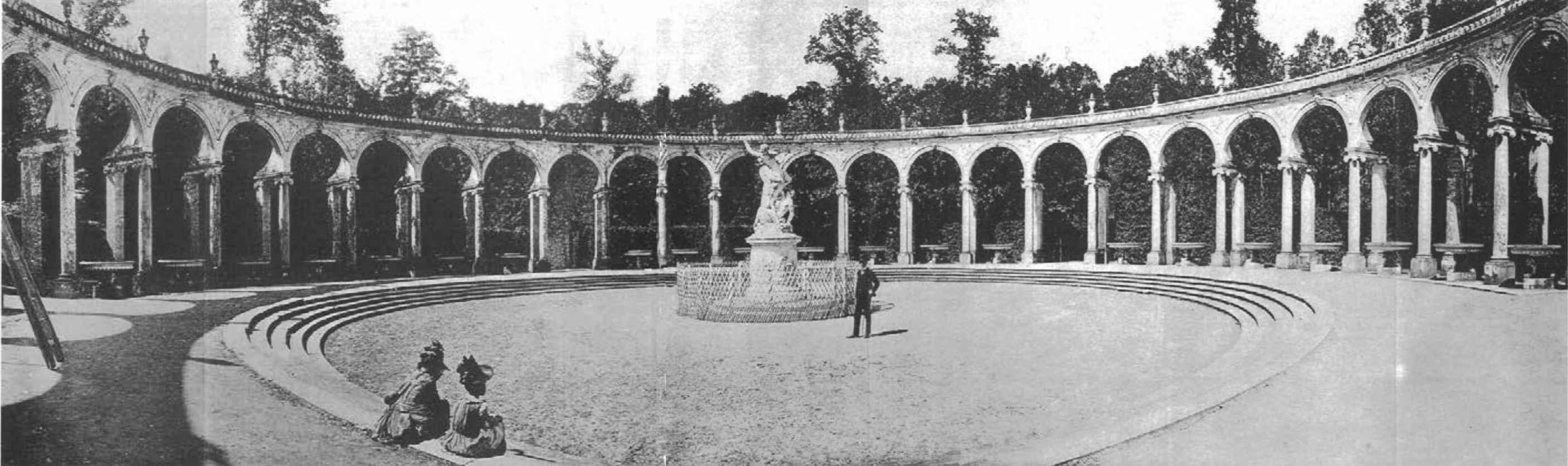 París. 1888. Fotografía de 140º tomada por Moëssard con su cilindrógrafo