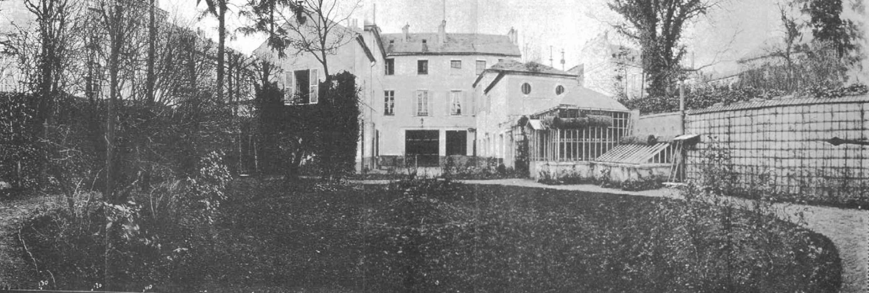 Alrededores de París. 1888. Fotografía de 140º tomada por Moëssard con su cilindrógrafo