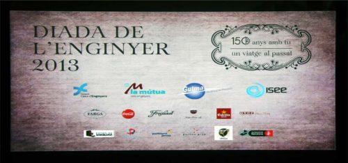 150 Aniversari Enginyers Industrials. Diada de l'Enginyer 2013