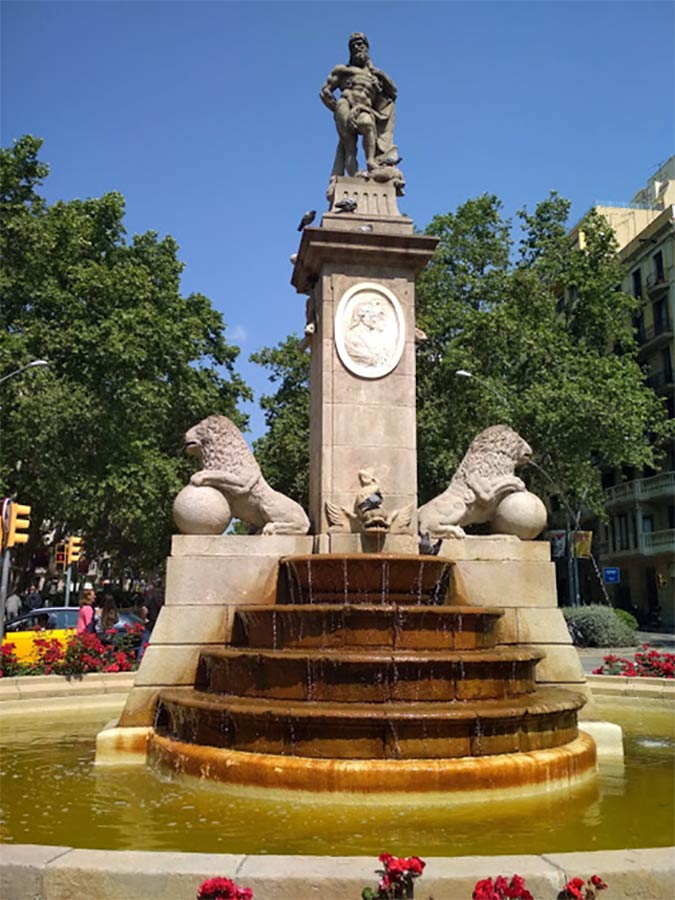 Fuente de Hércules de Barcelona