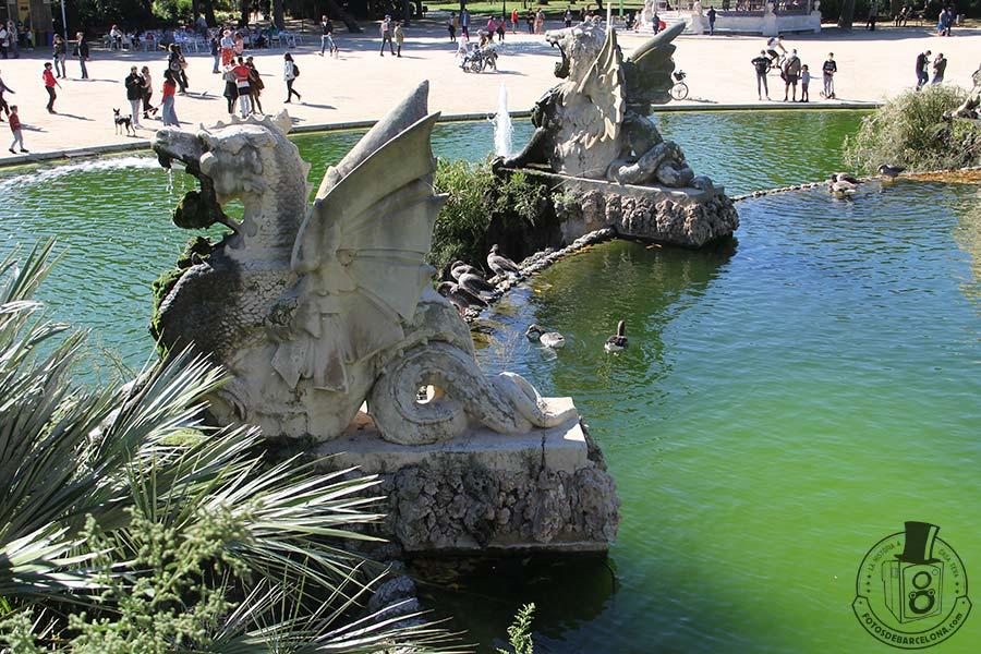 La Cascada mitologica del Parc de la Ciutadella de Barcelona. Grius. fotosdebarcelona.com