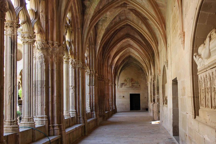 Claustre del Monestir de Santes Creus. fotosdebarcelona.com